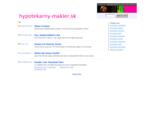 hypotekarny-makler. sk