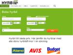 Om hyrbilar från vår biluthyrning Hyrbil com.
