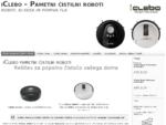 iClebo pametni čistilni sesalni roboti