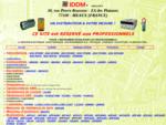 TOUTE l'INSTRUMENTATION POUR LES PROFESSIONNELS, LA MESURE ELECTRIQUE, ELECTRONIQUE, ENVIRONNEME...