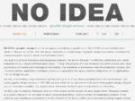 Graphic Design - Thanassis Thanasis Gounaris - No Idea