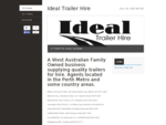 A Trailer for every purpose - Ideal Trailer Hire