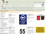 Ideavintti. fi - Kaiverretut kyltit, kilvet ja nimilaatat