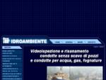 Ispezioni e ricostruzioni televisive in condotte, pozzi di acqua e gas, fognature - Bollate, Milano