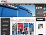 Αρχική - Βιομηχανικές πόρτες, αποβάθρες φόρτωσης