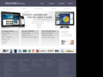 iFactorystream. com, servizi streaming, hosting on-demand, Flash, iPad, iPhone, QuickTime, Windows ...