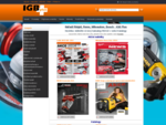 Nářadí Ridgid, Rems, Milwaukee, Bosch - IGB Plus