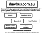 Bus and Coach hire, Australia wide - www. ihavbus. com. au