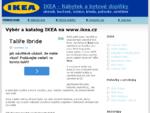 IKEA katalog ikea. cz, nábytek a bytové doplňky
