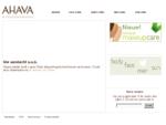 AHAVA - Dode Zee cosmetica