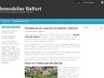 Immobilier Belfort - Conseils et bons plans pour s039;installer à Belfort