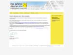 Dr. Böck kompetent in Immobilien