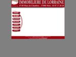Agence Immoblière de Lorraine, immobilier Metz