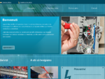 Impianti Mancini Elvio C. Impianti elettrici - Jesi, Ancona - Visual site