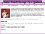 Indian Head Massage Home Page