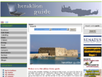 INFOCRETE GUIDE - HERAKLION - Heraklion Business Guide and Tourist Guide for rent a cars, hotels, ...