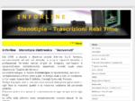 Stenotipia, Stenotipia Computerizzata, Trascrizioni Stenotipiche da Audio - Stenotipia - ...