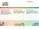 Titulinis InfoSPEKTRAS reklama internete, reklama spaudoje, reklama lauke, tiklapiu kurimas, log