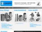 OROFIT - inox fitingi, inox kolektorji, inox ventili