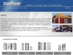 INOX POWER, Prodotti in acciaio inox, armadi spogliatoio, armadi portascope, armadi portaoggetti, ...