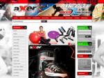 AXERSPORT. PL Hurtownia i sklep internetowy oferujący sprzÄt sportowy, turystyczny i fitness. Dys