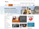 BAMF Integrationsportal Bundesamt für Migration und Flüchtlinge Integration Startseite