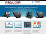 Téléphonique d'entreprise  découvrez nos solutions de téléphonie d'entreprise. Intellicom, inst...