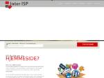 Inter ISP AS Webhotell Dedikerte servere Reseller løsninger Partner løsninger Programmeri