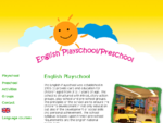 English Playschool and Preschool in Jyväskylä provides care and education for children 3 t