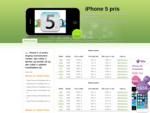 ➔ iPhone 5 Priser - Se alle priser og køb din iPhone 5 idag ⬅