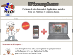 iPizzaphone pizzeria et camion pizza sur votre mobile smartphone iPhone, Android...