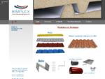 Painéis Sandwich | Painéis isotérmicos | Chapas lacadas | Coberturas | Chapa Perfilada | Pladur