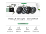 iRobot LT – grindų siurbimo ir plovimo robotai Roomba, Scooba