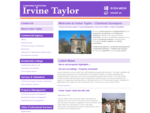 Welcome - Irvine Taylor Chartered Surveyors