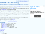 ISPfind - NZ ISP listing