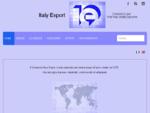 Italy Export - promozione delle esportazioni