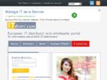 O portal europeu dos distribuidores informáticos