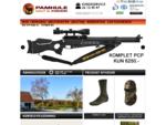 Pamhule jagt og fiskeri - Jagtbutik med jagtudstyr og fiskegrej