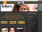 iVibes - Fashion and Crazy Contact Lenses, Premium False Eyelashes