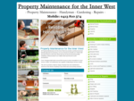 Property Maintenance for the Inner West Balmain, Rozelle, Leichhardt.