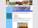JA Carroll Son Solicitor | Kingaroy | Queensland | Conveyancing | Wills | Estates | Personal