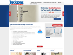 Locksmiths, Alarms, Safes, CCTV, Security Solutions - Jacksons Security
