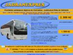 DOPRAVA DO CHORVATSKA 2014 | AUTOBUSOVA DOPRAVA | JADRANEXPRES