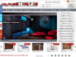 Online-Shop mit Jalousien, Plissee, Rollladen nach Maß, Rollos, PVC-Fenster Türen, Markisen,