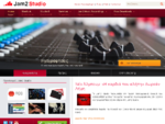 Καλώς ήρθατε στο Jam2 Studio Ηχογραφήσεις, Πρόβες, Μουσικές Παραγωγές, Ενοικίαση Εξοπλισμού, ...