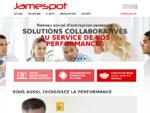 Jamespot réseau social d entreprise pour développer votre business   Jamespot Réseau Social ...