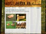 Výrobky ze dřeva, dřevořezba | Janek 66