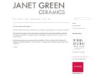 Janet Green » New Zealand Fine Art Ceramicist