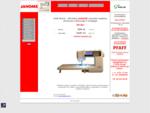 JANOME buitinės siuvimo mašinos - UAB Koliz - oficialus importuotojas