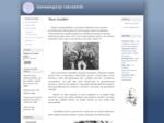Slovo úvodem | Genealogický rozcestník